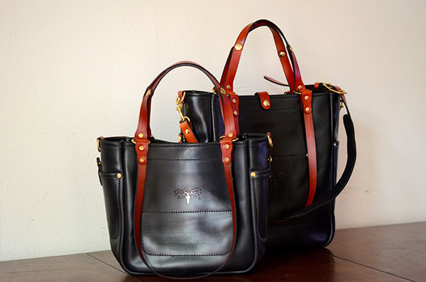 Adjustable Tote - Black