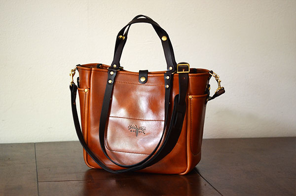 Adjustable Tote - Caramel