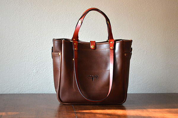 Adjustable Tote - Brown