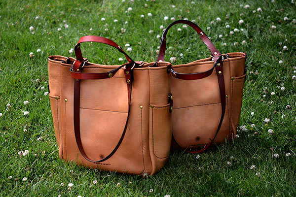Adjustable Tote - Natural