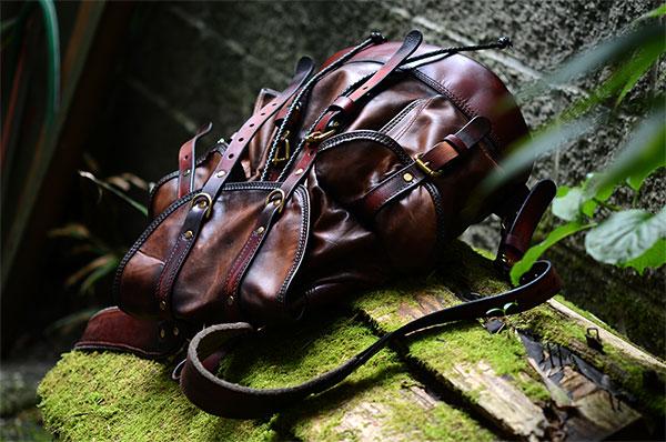 Vintage Backpack - Aged