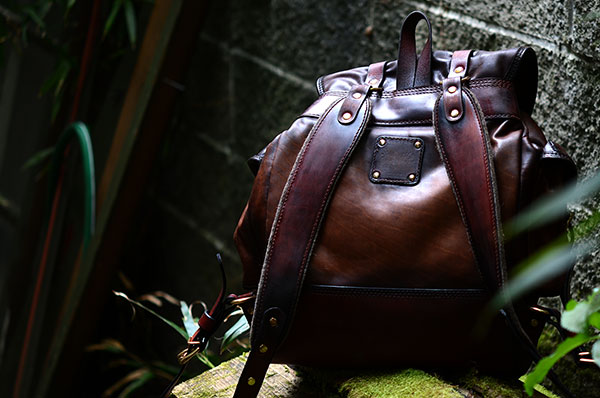 Vintage Backpack - Aged