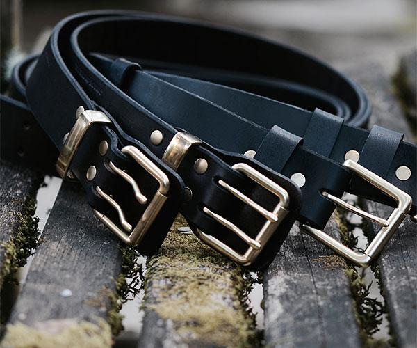 Belts - Brass Hardware