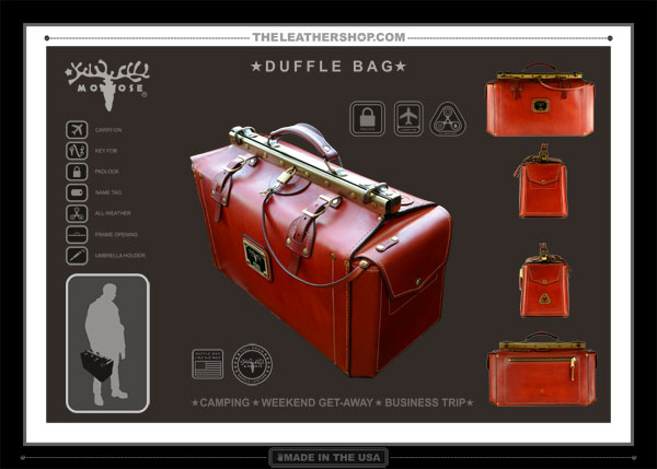 TheLeatherShop Duffel Bag