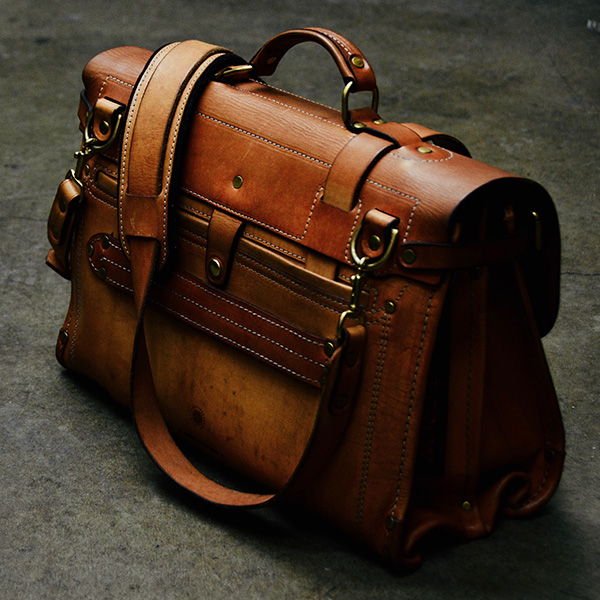 Business Briefcase - aged